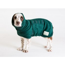 Ruff & Tumble Green Drying Coat - L - Dogtor