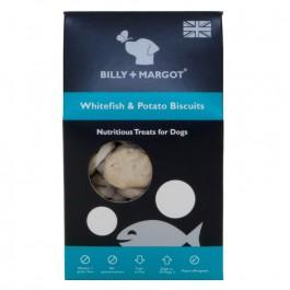 Billy + Margot White Fish & Potato Biscuits 100g - Dogtor