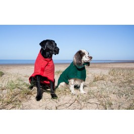Ruff & Tumble Red Drying Coat - MD - Dogtor