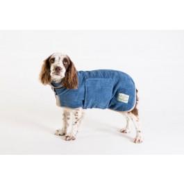 Ruff & Tumble Blue Drying Coat - XXXS - Dogtor