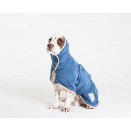 Ruff & Tumble Blue Drying Coat - M - Dogtor