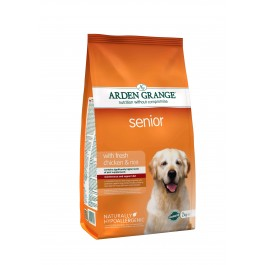 Arden Grange Senior Chicken & Rice Dog Food 2kg - Dogtor