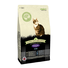 James Wellbeloved Senior Cat Fish & Rice 1.5kg