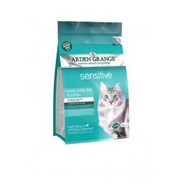 Arden Grange Sensitive Fish & Potato Grain-free Cat Food 2kg - Dogtor