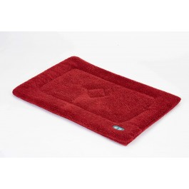 Gor Pets Wine Sherpa Fleece Crate Mat - Large