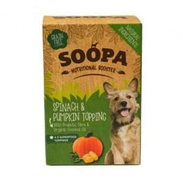 Soopa Spinach & Pumpkin Nutritional Topping 4 x 80g - Dogtor