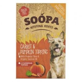 Soopa Carrot & Pumpkin Nutritional Topping 4 x 80g - Dogtor