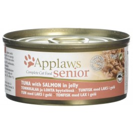 Applaws Senior Cat Tuna & Salmon in Jelly 24 x 70g - Dogtor