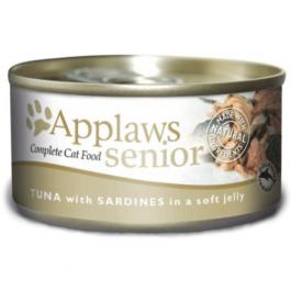 Applaws Senior Cat Tuna & Sardine in Jelly 24 x 70g - Dogtor