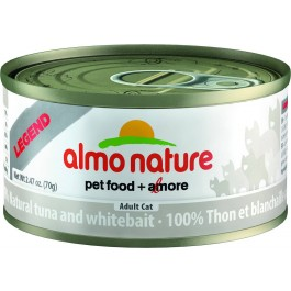 Almo Nature Legend Tuna & Whitebait for Cats 24 x 70g - Dogtor