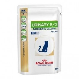 Royal Canin Urinary S/O Moderate Calorie Pouches for Cats 48 x 100g - Dogtor