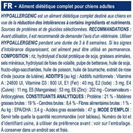 Royal Canin Veterinary Diet Dog Hypoallergenic DR21 14 kg - Dogtor