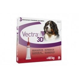 Vectra 3D for Extra Large Dogs 40kg+ (pack of 3)