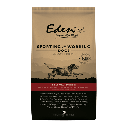 Eden Sporting & Working Dog 'Country Cuisine' Medium Kibble 15kg - Dogtor