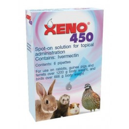 Dechra | xeno 450 | spot-on for small animals | dogtor. Vet.