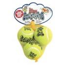 Kong AirDog Squeakair Small Tennis Balls (pack of 3)