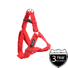 Amiplay Cotton Adjustable Harness Red - Small
