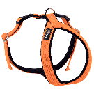 Amiplay Cotton Adjustable Grand Harness Orange - Large