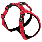 Amiplay Reflective Adjustable Grand Harness Red - Large