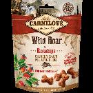 Carnilove Crunchy Snack Sanglier Sauvage & Eglantier chien - La Compagnie des Animaux