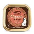 Lily's Kitchen Cat Organic Beef Dinner Tray 19 x 85g