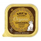 Lily's Kitchen Cat Organic Chicken Dinner Tray 19 x 85g
