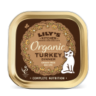 Lily's Kitchen Cat Organic Turkey Dinner Tray 19 x 85g