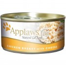 APPLAWS Cat Chicken & Cheese Wet 24 x 156g
