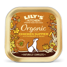 Lily's Kitchen Adult Dog Organic Chicken Supper Tray 11 x 150g