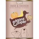 Edgard & Cooper Puppy Duck & Chicken Tin 400g
