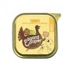 Edgard & Cooper Organic Turkey Tray 100g