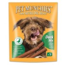 Pet Munchies Duck Stix Dog Treats 50g