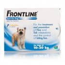Frontline Spot-on for medium dogs - 3 pipettes