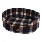 Gor Pets Highland Autumn Check Premium Bed - 28""