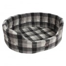 Gor Pets Highland Winter Check Premium Bed - 24""