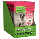 Natures Menu Dog Beef & Tripe Pouch 8 x 300g