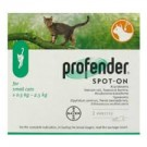Profender Small Cat - Dogtor.vet
