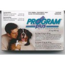 Program Plus Tablets for Large Dogs 23 - 45kg (pack of 6)