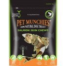 Pet Munchies Salmon Chews Dog Treats 125g - Large