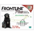 Frontline Plus Spot-on for extra large dogs - 3 pipettes