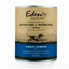 Eden 'Turkey & Herring' Wet Dog Food 400g