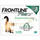 Frontline Plus Spot-on for cats & ferrets - 3 pipettes
