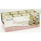 APPLAWS Cat Tuna & Prawn Wet 24 x 70g