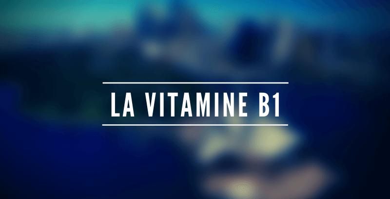 Les nutriments - La vitamine B1 ou Thiamine