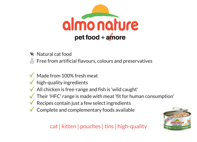 almo nature food summary