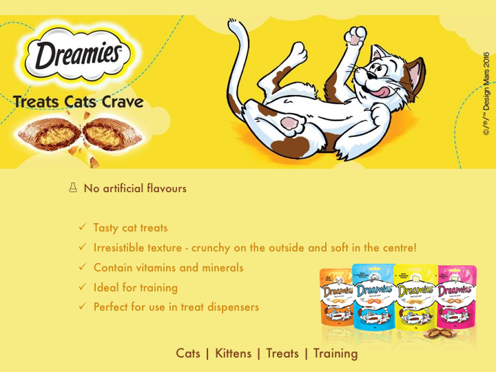 dreamies cat treat summary
