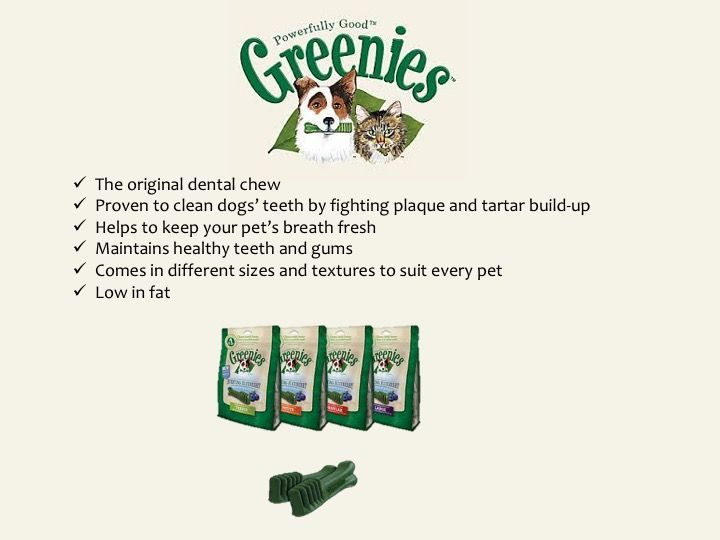 greenies treat summary