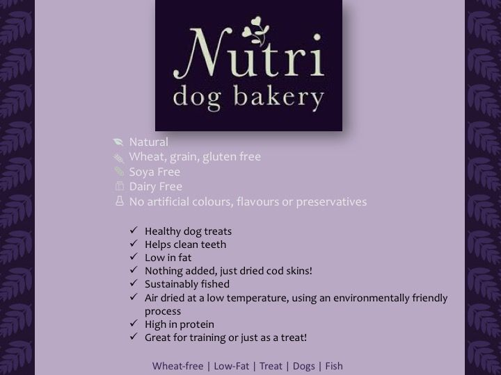 nutri dog bakery treat summary