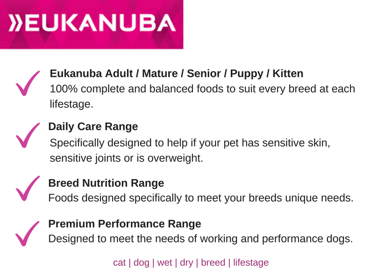 eukanuba food summary