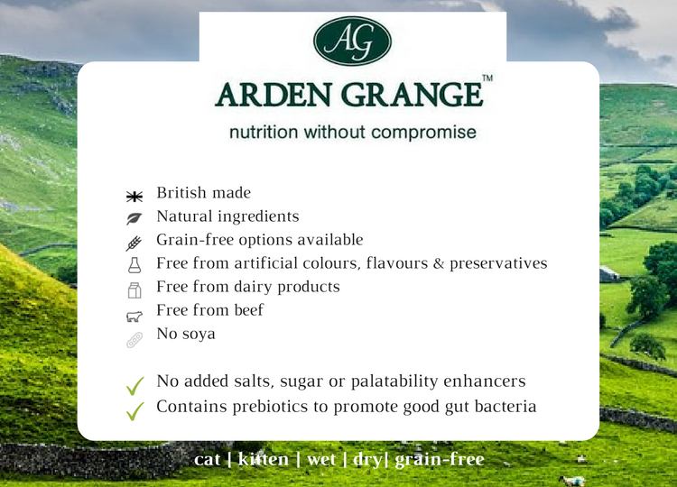Arden grange food summary